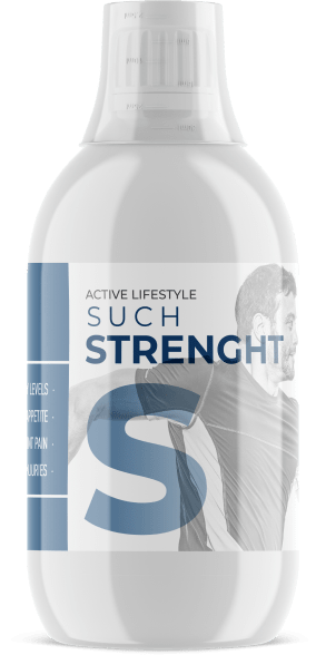 Active lifestyle collagen bottle